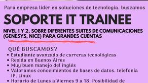 Estás buscando tu primera oportunidad en tecnología?
