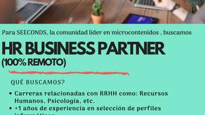 ¿Te gustaría trabajar en SEECONDS, la comunidad líder en microcontenidos digitales?