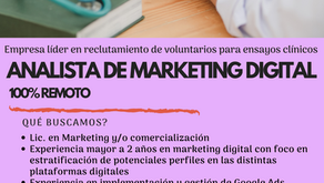 Buscamos Analista de MKT Digital
