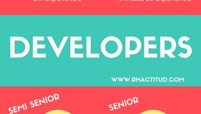 Developers: Cuál es mi nivel?