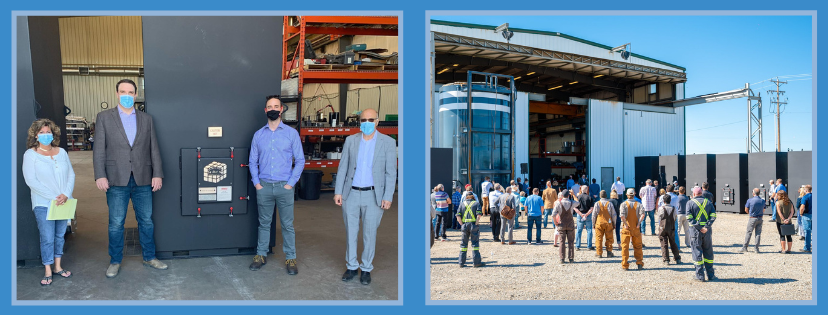 Emission Reduction Funding Announcement at Clear Rush Co.