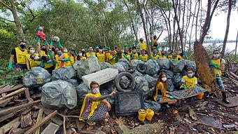 119ª Ação Voluntária EcoFaxina