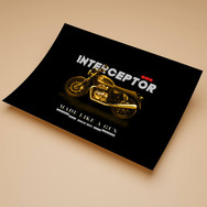 Interceptor 650 (Black Edition) Poster