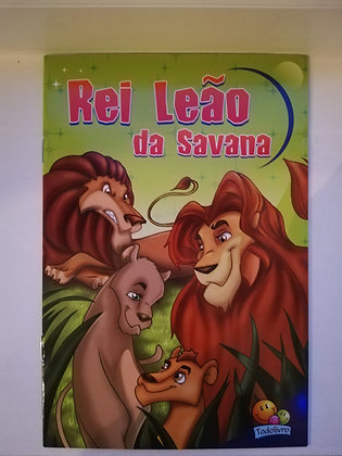 Um Mundo De Aventuras - Rei leão da Savana