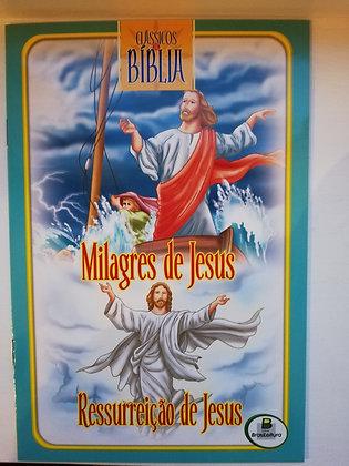 Clássicos da Bíblia - Milagres de Jesus - Ressurreição de Jesus