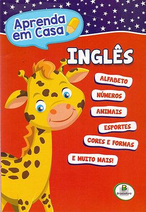 Aprenda em Casa bilíngue Português/Inglês volume único