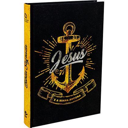 BÍBLIA SAGRADA - CAPA ILUSTRADA JESUS É MINHA ANCORA