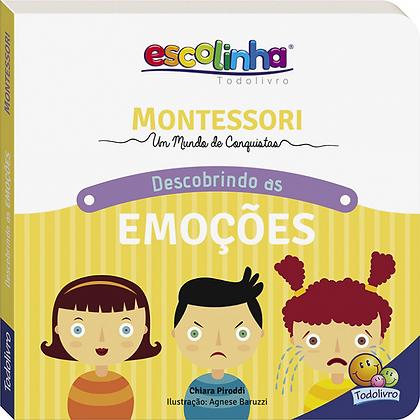 Montessori Meu Primeiro livro... Descobrindo as Emoções (Escolinha)