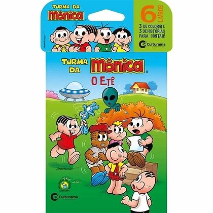 Mini Livro Turma da Monica - Com 6 unid.
