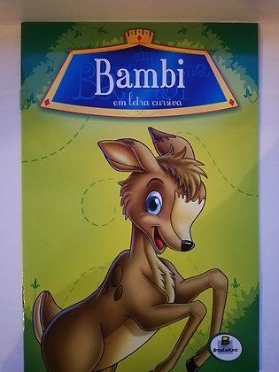 Clássicos em Letra Cursiva - Bambi