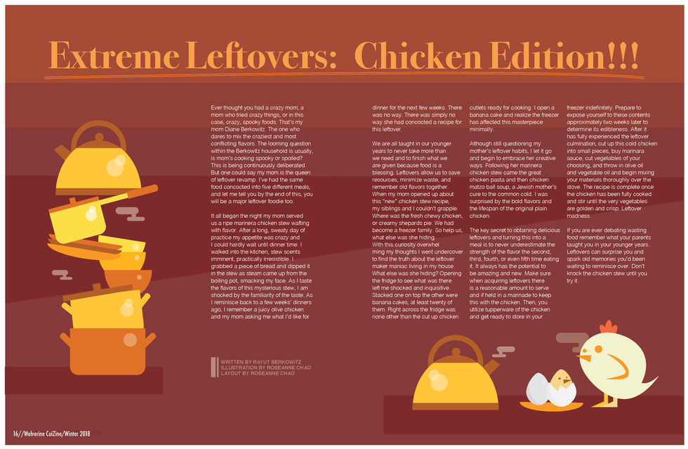 extreme leftovers: chicken edition