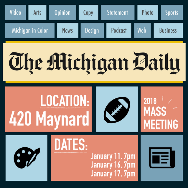 The Michigan Daily Ad