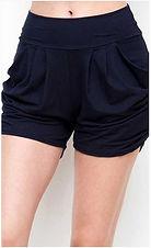 Navy Harem Shorts.JPG