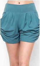 Teal Harem Shorts.JPG