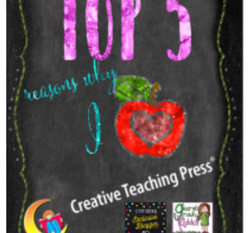 5 Reasons Why I Love Creative Teaching Press Décor