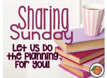 December Sharing Sunday Lesson Plans