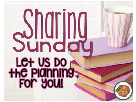 December Sharing Sunday Lesson Plans