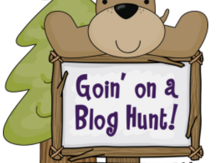 """Going on a Blog Hunt--a """"Beary"""" Fun Linky Party"""