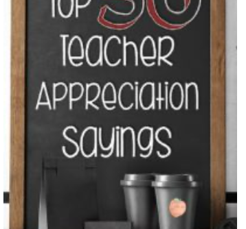 50 Teacher Appreciation Gift Ideas