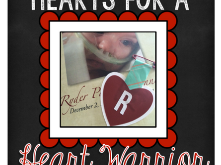 Hearts for Heart Warrior