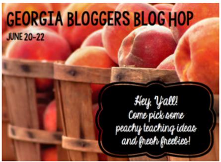 Georgia Bloggers Hop and Freebies