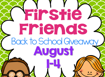 I L-O-V-E My Firstie Friends, Our HUGE Giveaway, and a New Blog Feature