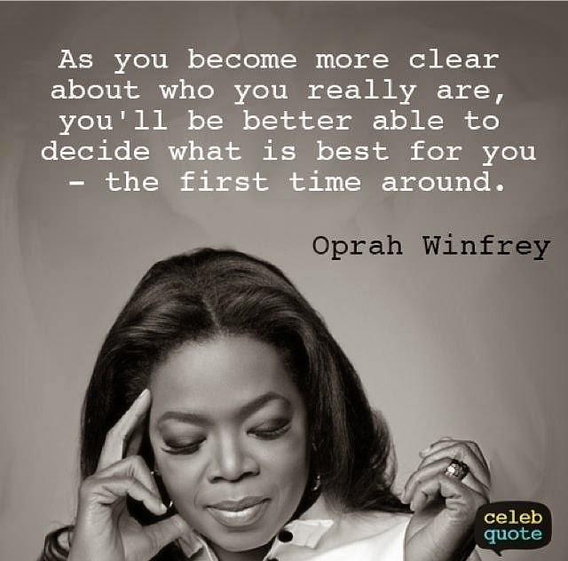 Oprah Qoute