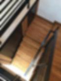 Kitchen staircase
