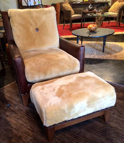 Palladin Club Chair & Ottoman