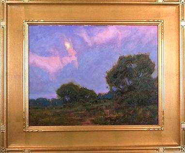 Bill Gallen Moonrose Over Meadow