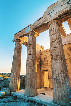Athens Greece and The Acropolis