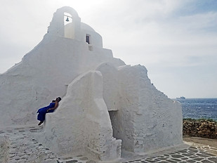 Panagia Paraportiani Church in Greece