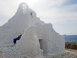 Panagia Paraportiani Church in Greece