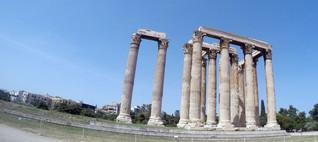 Temple of Olympian Zeus Athens
