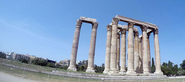Temple of Olympian Zeus Athens