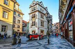Prague Czech Republic Square Old Town Ho