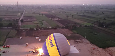 Luxor Egypt - Hot Air Balloon