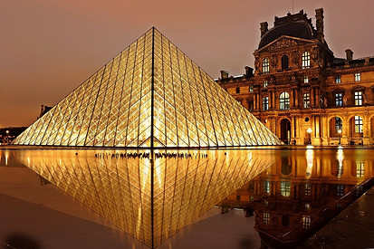 Louvre in Paris France