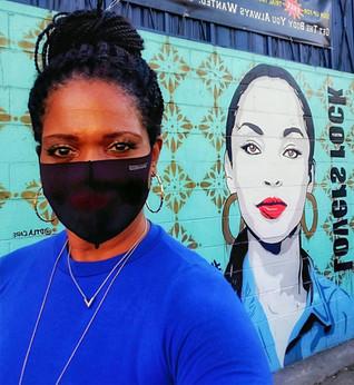 Sade and Me - LA Street Art
