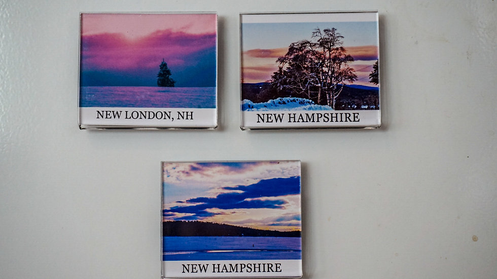 Gibbs New London, NH Fridge Magnets