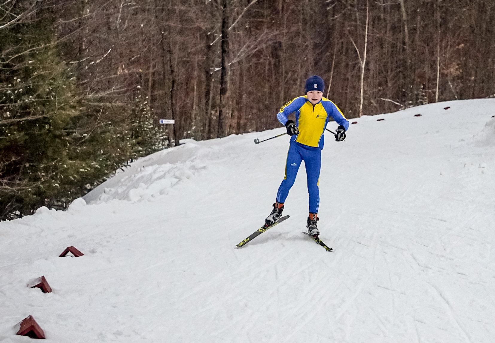Sunapee Region XC Ski Lesson