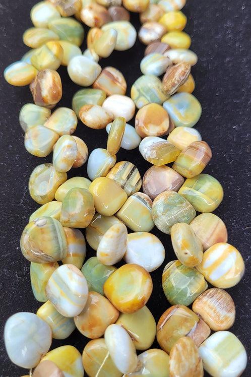 Green Opal Briolettes