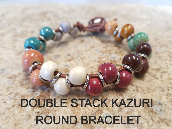 DOUBLE STACK KAZURI ROUND BRACELET_edite