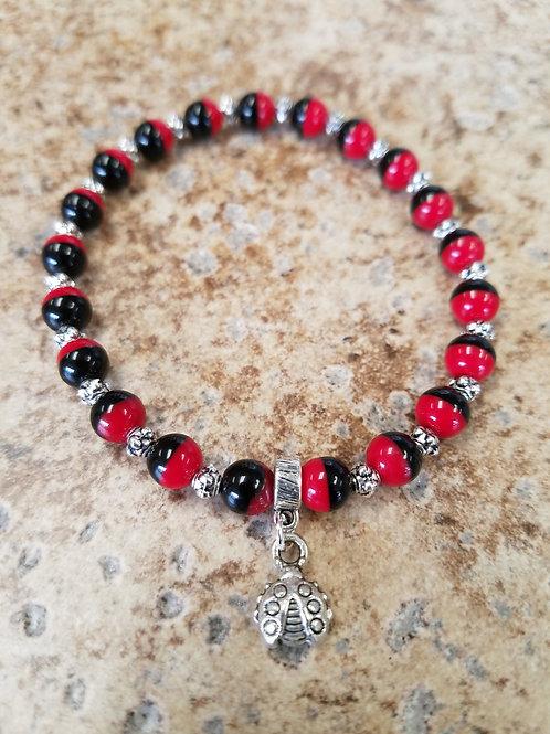 Kit - Ladybug Stretch Bracelet