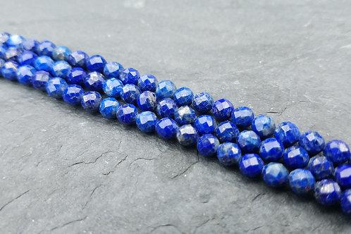 Lapis Lazuli - 4 mm Faceted Round