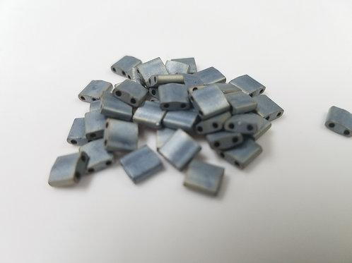 Tila - Matte Metallic Silver Grey