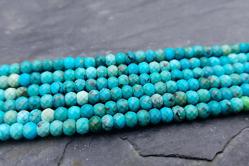 Natural Turquoise - 3x4 mm