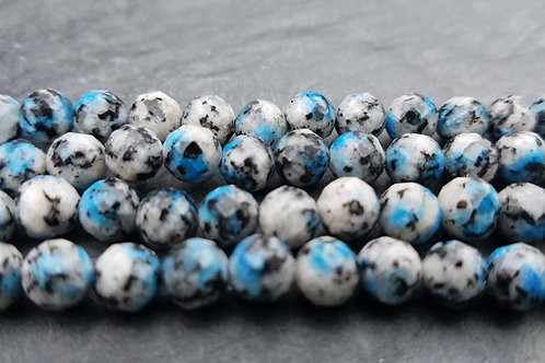 K-2 Stone - 6 mm Faceted Round
