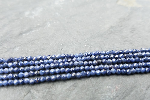 Blue Sapphires - 2 mm Faceted Round