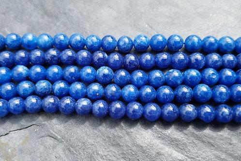 Dyed Blue Kyanite - 6 or 8 mm